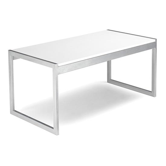 Aria Cocktail Table - White
